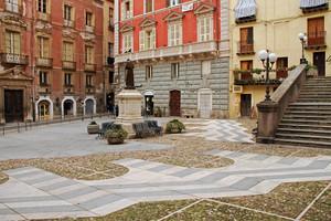 Archi sul pavimento (Piazza Carlo Alberto)