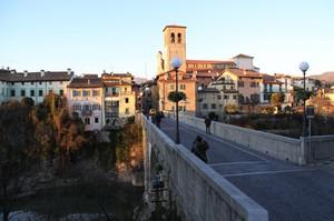 Ponte del Diavolo al tramonto