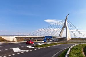 ponte nuovo a Monserrato sulla ss 554