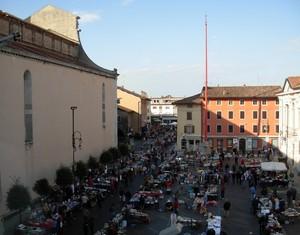 Piazza Duomo, il mercato