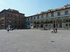 La piazza delle leggende