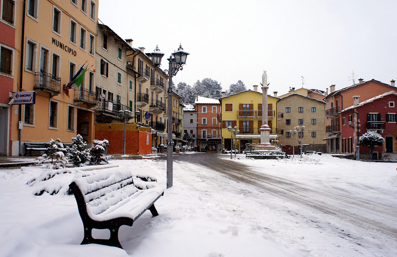 ''ancora neve'' - Bosco Chiesanuova
