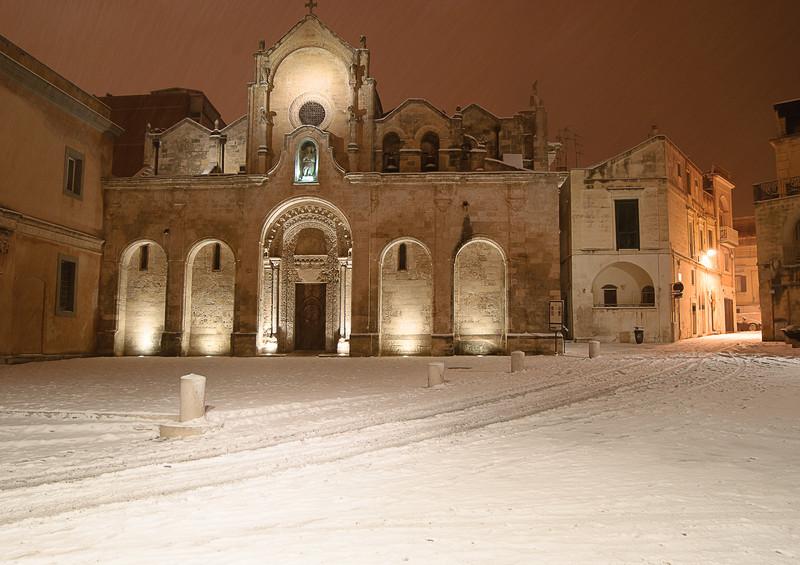 ''San Giovanni sotto la neve'' - Matera