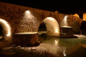 … lungo l'antica via regia romana