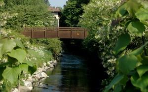 Ponte sul fiume Olona