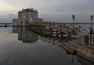 Il ponte per la casina