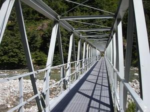Scopa, Valsesia, ponte pedonale