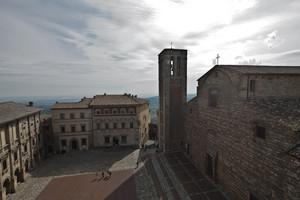 La Piazza Grande a Montepulciano