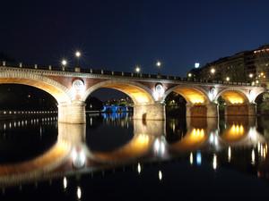 fino al ponte blu