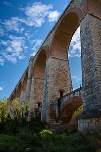 Ponte ferroviario nella tratta Villafranca – Messina