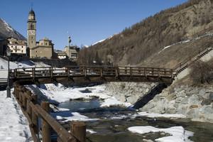 Il ponte sul Grand Eyvia