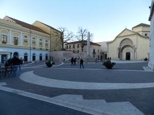 Il cielo su Piazza Santa Sofia
