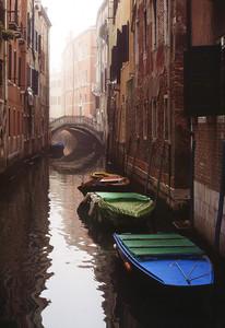Ponte e foschia 1, Venezia 1994