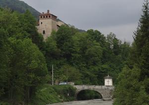 Ponte voltato sul Maira, Cartignano, Occitania 2009