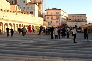 Assisi piazza s.Francesco