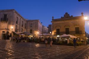 Una sera un piazza Umberto I