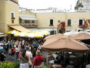 Capri,la famosa piazzetta