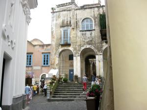 Capri piazzetta Ignazio Cerio