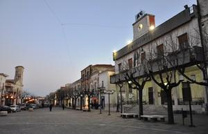 Piazza Pietro Nenni, nel cuore di Orta Nova