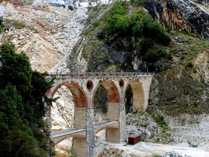 I paesaggi delle cave: Ponti di Vara