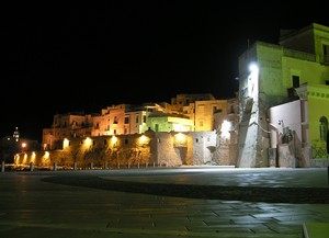 Piazza Kennedy by night
