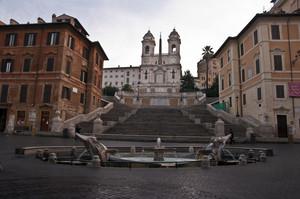 Piazza di Spagna-Roma