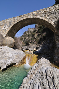 Il ponte Cin sul torrente Barbaira