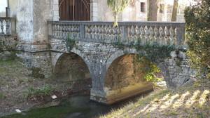 Flambruzzo, ponte di Villa Codroipo
