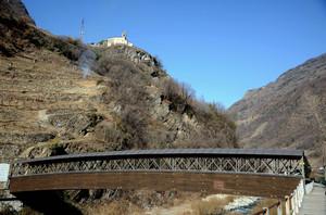 Ponte coperto sul Poschiavino