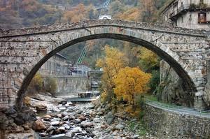 Ponte di San Martino d'autunno