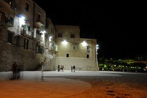 Piazza Kennedy di sera