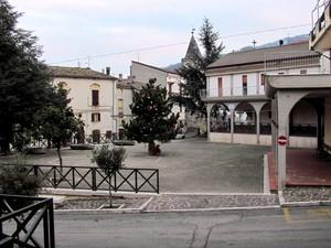 """La piazza """"de le Majie"""""""