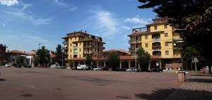 La piazza della Fiera