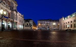 Ora Blu in Piazza Carlo Alberto