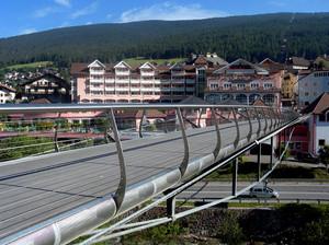 Ortisei, ponte pedonale