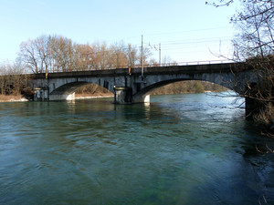 Trecate, ponte ferroviario