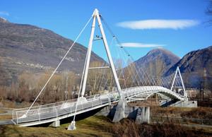Ponte sull'Adda in località Torchione