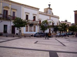 Piazza San Giorgio a San Giorgio Jonico