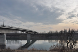 Ponte verso Villa bartolomea