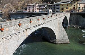 Bard, ponte sulla Dora Baltea