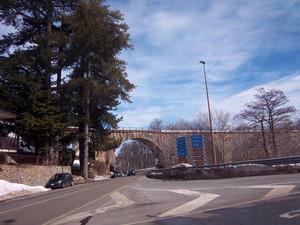 Il ponte ferroviario a Camigliatello