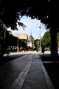 piazza del carmine a Cagliari