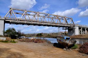 vecchio ponte in viale la playa a Cagliari