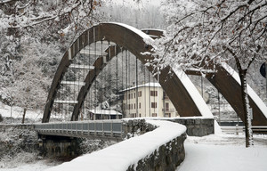 Ponte sul Mallero in località Gombaro