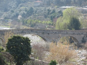 Il ponte medievale di Pontedassio