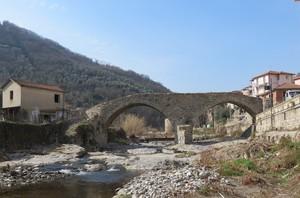 Ponte romanico a San Lazzaro Reale