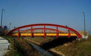 Il ponte dei tifosi
