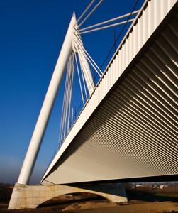 Ponte strallato sull'Adige