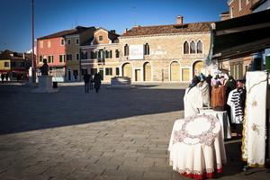 Merletti in piazza