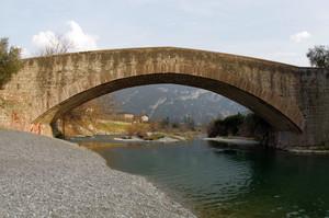 Ponte romano sul fiume Sarca